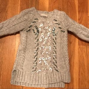 Crewcuts embellished girls sweater